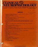 Clinical Neuropsychology Book
