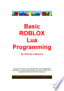 Basic ROBLOX Lua Programming