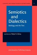 Pdf Semiotics and Dialectics Telecharger