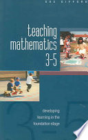 Teaching Mathematics 3 5 Developing Learning In The Foundation Stage