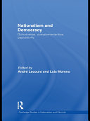 Nationalism and Democracy