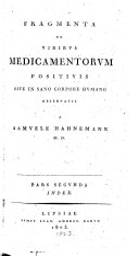 Fragmenta de viribus medicamentorum