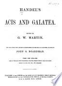 Handel S Acis And Galatea