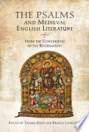The Psalms and Medieval English Literature Book