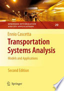 Transportation Systems Analysis