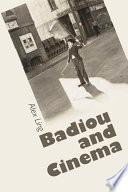 Badiou And Cinema