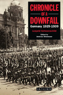 Chronicle of a Downfall Pdf/ePub eBook