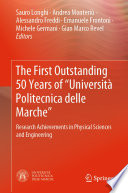 The First Outstanding 50 Years of    Universit   Politecnica delle Marche    Book