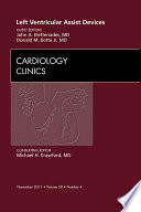 Left Ventricular Assist Devices An Issue Of Cardiology Clinics E Book Book