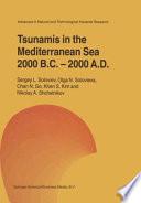 Tsunamis in the Mediterranean Sea 2000 B C  2000 A D