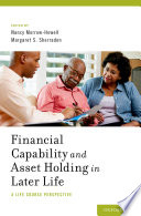Financial Capability And Asset Holding In Later Life