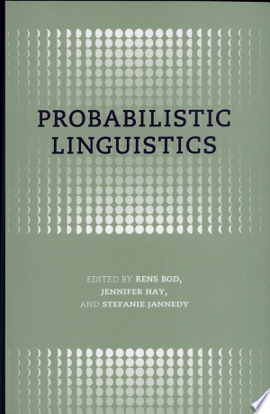 Download Probabilistic Linguistics online Books - godinez books