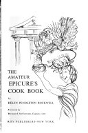 The Amateur Epicure s Cook Book