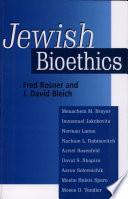 Jewish Bioethics Book