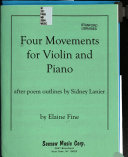 Four movements for violin and piano