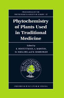 Phytochemistry of Plants Used in Traditional Medicine