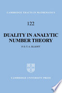 Duality in Analytic Number Theory