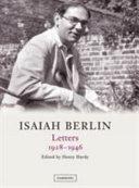 Isaiah Berlin  Volume 1