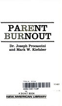 Parent Burnout