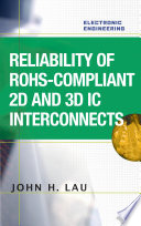 Reliability Of Rohs Compliant 2d And 3d Ic Interconnects