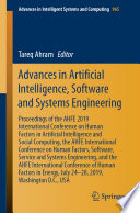 Advances in Artificial Intelligence  Software and Systems Engineering Book