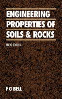 Engineering Properties of Soils and Rocks
