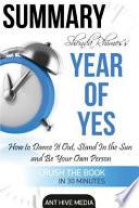 Summary Shonda Rhimes' Year of Yes