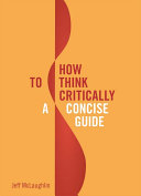 How to Think Critically