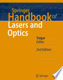 Springer Handbook of Lasers and Optics Book
