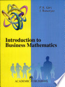 Introduction to Business Mathematics