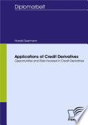 Applications of Credit Derivatives