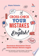 Cross Check Your Mistakes In English Book