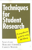 Techniques For Student Research