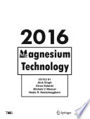 Magnesium Technology 2016 Book PDF