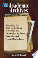 Academic Archives Book
