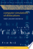 Computer Simulations of Dislocations