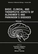 Basic  Clinical  and Therapeutic Aspects of Alzheimer s and Parkinson s Diseases Book