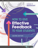 How to Give Effective Feedback to Your Students  Second Edition Book