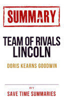 Team of Rivals Lincoln