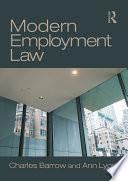 Modern Employment Law