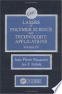 Lasers in Polymer Science and Technolgy