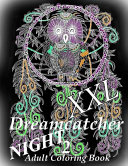 Dreamcatcher Night Xxl 2 Coloring Book For Relax