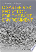 Disaster Risk Reduction For The Built Environment Book PDF