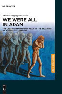 We Were All in Adam
