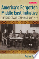 America's Forgotten Middle East Initiative
