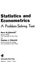 Statistics and Econometrics