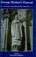 George Herbert's Pastoral: New Essays on the Poet and Priest ...