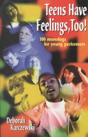 Teens Have Feelings  Too