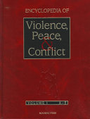 Encyclopedia Of Violence Peace And Conflict