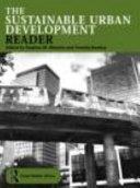 The Sustainable Urban Development Reader